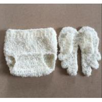Baby Newborn Knitted Crochet Diaper Cover and Wings Manufactures