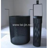 Titanium MMO anode Round titanium mesh basket Anode coated with MMO coating Manufactures