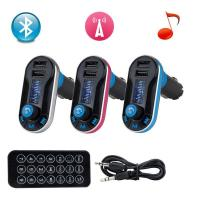 Wireless Bluetooth FM Transmitter MP3 Player Car Kit Charger for iPhone 6 5S 5C Manufactures