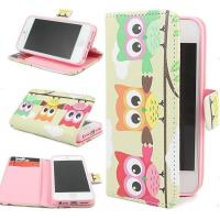 """Owl Hybrid Wallet Leather Card Stand Flip Cover Case for iPhone 6 Plus & 4.7"""" Manufactures"""