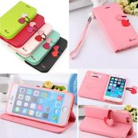 """Cute Wristlet Flip Leather Case +Soft TPU Cover For iPhone 6 Plus 5.5"""" / 6 4.7"""" Manufactures"""