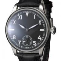 Hand Winding 44mm Black Dial Special@6 hand winding 6498