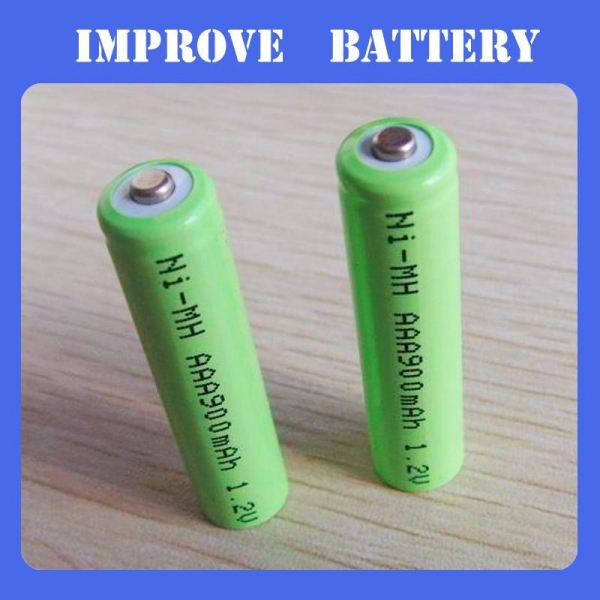 Quality Nimh Battery 1.2V AAA 900mAH rechargeable ni-mh battery for sale