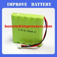 Nimh Battery 6v AA 1500mAH Manufactures