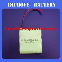 Nimh Battery 3.6v AA 1000mAH Manufactures