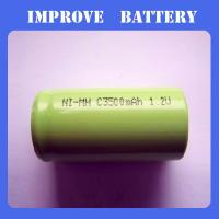 Nimh Battery 1.2V C 3500mAH ni-mh rechargeable battery Manufactures