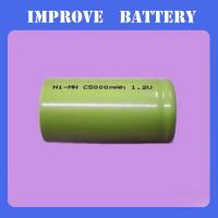 Nimh Battery 1.2V C 5000mAH Manufactures