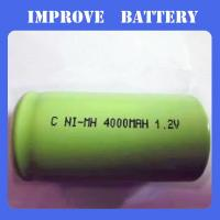 Nimh Battery 1.2V C 4000mAH Manufactures