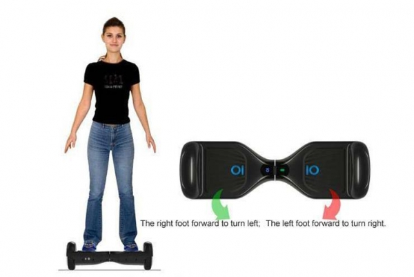 Quality Multicolor Mini Two Wheeled Self-balancing Electric Scooter for sale