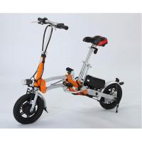 Buy cheap Rechargeable Electric Folding Bike 250w from wholesalers