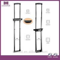 China Trolley Customized Black Retractable Telescopic Luggage Trolley Handle on sale