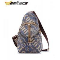 Buy cheap Chest pack brand authentic 2015 new backpack, fashion handbags, casual canvas messenger bag packet from wholesalers