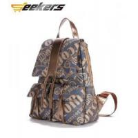Buy cheap casua letter canvas bag, discount shoulder bags for women, new canvas backpacks from wholesalers