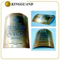 VOSP high end metal private brand liquor whisky label Manufactures