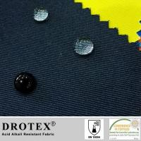 China EN13034 Certified 240gsm Twill Acid Proof Fabric on sale