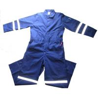 China Hi Vis Navy Acid-proof&Alkaliproof Coverall wholesale