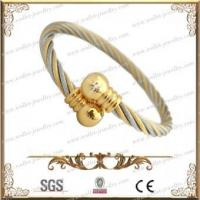 Stainless steel magnetic bangle for men and women