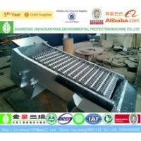 Automatic solid liquid separation rotary bar screen for waste water treatment Manufactures