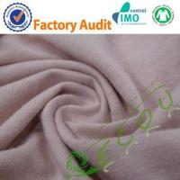 eco-friendly knitted hemp cotton blend fabric Manufactures