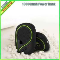 China 6600MAH waterproof power bank SOS function charger for mobile phone and backup battery for tablet PC on sale