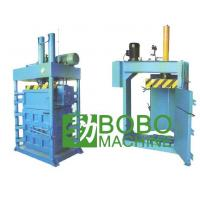 Recycling machine Fabrics / Textiles Baling Machine Item:003 Manufactures