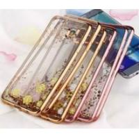 Luxury Electroplate Crystal Transparent TPU Case for Samsung Galaxy S6 edge Manufactures