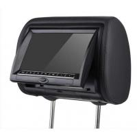 China DV7823 7 inch Zipper Car Headrest Dvd Players With Sony Lens on sale