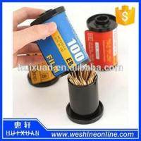 Buy cheap Plastic Film Novelty Toothpick Holder / Promotional Toothpick Box Dispenser from wholesalers