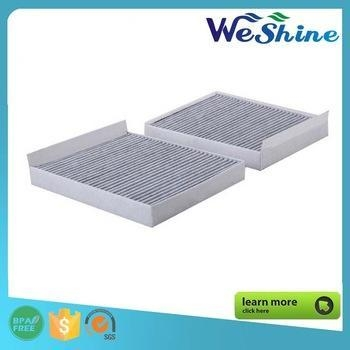 Quality Coconut Shell Charcoal Cabin Air Filters, Car Air Conditioning Filter, Air Flush Filter for sale