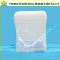 Compressed Curve Shaped White Magic Sponge Manufactures