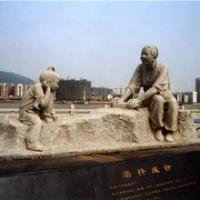 Large outdoor Antique Marble Stone Garden Statues for sale Manufactures