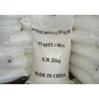 Buy cheap Concrete admixture Sodium gluconate industry grade from wholesalers