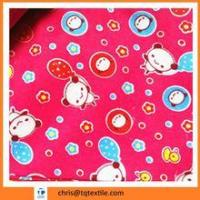 100% cotton flannel fabric /print flannel stock lot Manufactures