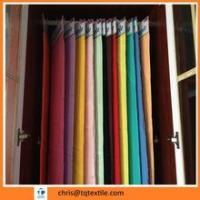 100% cotton dyed red color flannel fabric Manufactures
