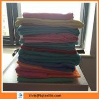 Buy cheap Dyed cotton flannle fabric with soft hand for baby from wholesalers