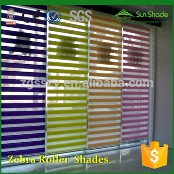 China Manual/Motorized Fabric zebra roller blind parts