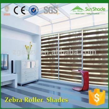 China Duel roller blinds Home Window Day Night Zebra Roller blinds