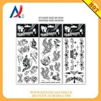 China temporary tattoo sticker for hands and sexy body tattoo sticker on sale