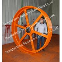 Buy cheap V-belt Large Pulley from wholesalers