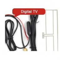 China ES025 In Car Amplified Digital TV Antenna Booster For DVB-T on sale
