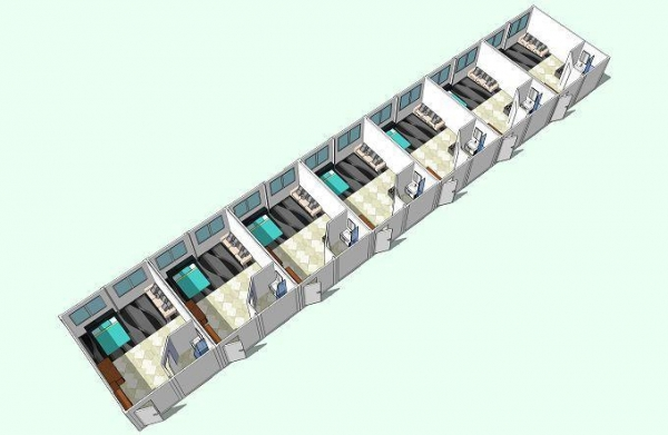 Quality Prefabricated Hotel Building Prefabricated Hotel Building for sale
