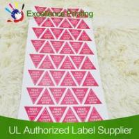 Removable adhesive lable
