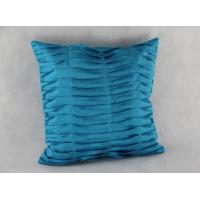 Faux Silk Pleat Cushion