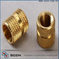 Buy cheap Brass knurling nut/brass insert for plastic from wholesalers