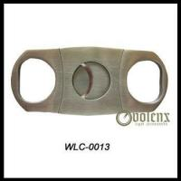 Double Blade Stainless Steel Cigar Cutter Manufactures