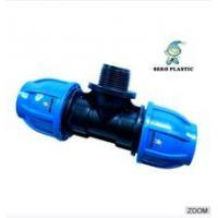 "20mm*1/2""-110mm*4""pp fitting male tee irrigation pipe fittings Manufactures"