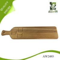 China Acacia Wood, 23.6 inch by 6 inch by 0.6 inch Large Rectangular Paddle Board on sale