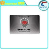 China ISO14443A - RFID Blocking Credit & Debit Card Protector on sale