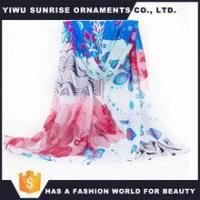 Buy cheap Custom Polyester Scarf Printing Spring Scarf 2016 from wholesalers