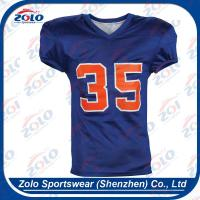 China Customized Sublimated Football Uniforms, Football Jersey on sale